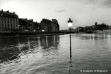 Ref Paris 7 – Flooding of the Seine, Ile Saint-Louis