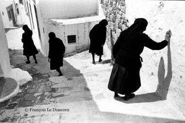 Ref GREEK ISLANDS 1 – Four widows, Patmos island, Greece