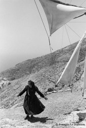 Ref GREEK ISLANDS 2 – Working windmill and miller, Olympos village, island of Karpathos