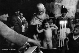 Ref GREEK ISLANDS 21 – Greek Orthodox baptism in Olympos village, island of Karpathos