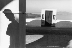 Ref GREEK ISLANDS 6 – Shadow of man with door, Santorini island
