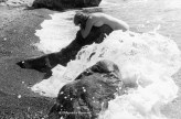 Ref GREEK ISLANDS 9 – Nude with waves, Crete