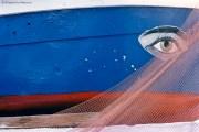 REF BLUE GREECE 2 – Eye of boat, Poros island