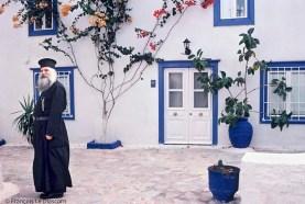 REF BLUE GREECE 7 – Pope, Hydra Island
