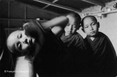 Ref India 10 – Small Tibetan monks. McLeod Ganj