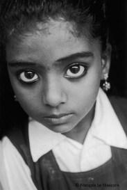 Ref India 2 – Eyes of a little girl, Cochin, Kerala