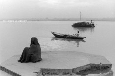Ref India 7 – Boats on the Ganges, Benares