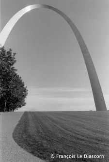 Ref Only in America 18 – Gateway Arch, architect Eero Saarinen, St Louis, Missouri