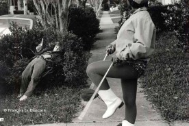 Ref Only in America 26 – Little boy and majorette, New Orleans, Louisiana