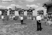 "Ref Only in America 29 – ""Carhenge"", sculpture by Jim Reinders, inspired by Stonehenge, Alliance, Nebraska"