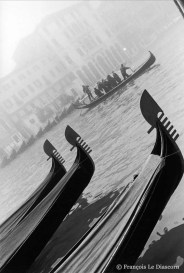 Ref VENICE 1 – Gondolas on the Grand Canal