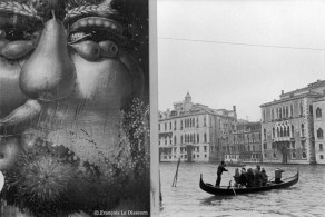 Ref VENICE 22 – Poster of an Arcimboldo painting alongside the Grand Canal