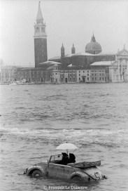 Ref VENICE 3 – Car boat in the lagoon