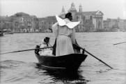 Ref VENICE 5 – Angel in gondola, Venice carnival