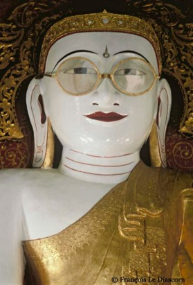 Ref BUDDHA 1 – Buddha with glasses, Pya, Myanmar (Burma)