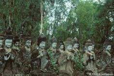 Ref BUDDHA 18 – Buddhas in a wood, Sala Kaew Ku Gardens, Nong Khai, Thailand