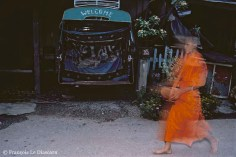 Ref BUDDHA 20 – Monk with begging bowl, Luang Prabang, Laos