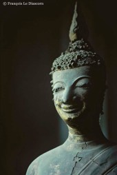 Ref BUDDHA 5 – Buddha smiling, Luang Prabang, Laos