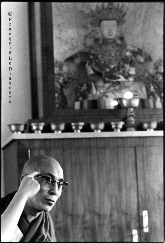 Dalai Lama - McLeod Gang © François Le Diascorn