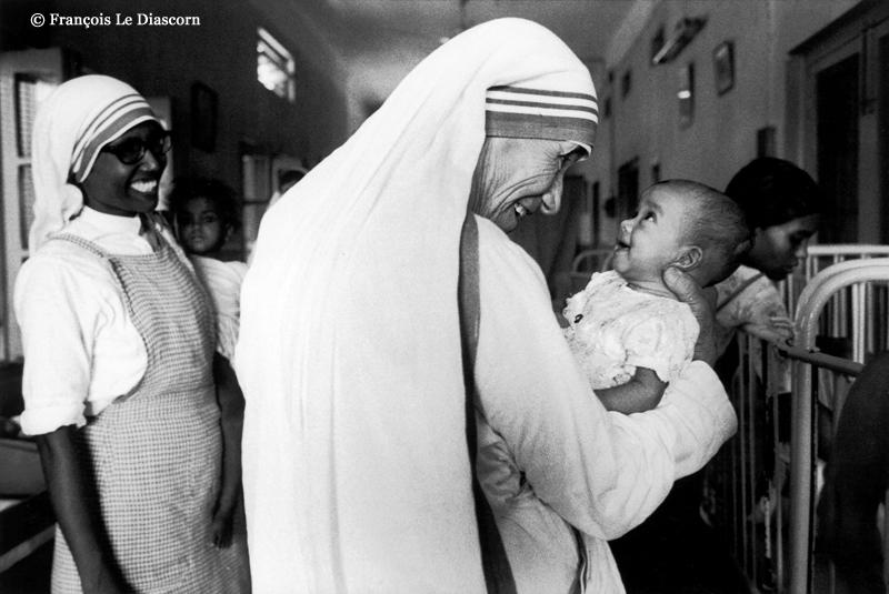 Mother Teresa - Calcutta © François Le Diascorn